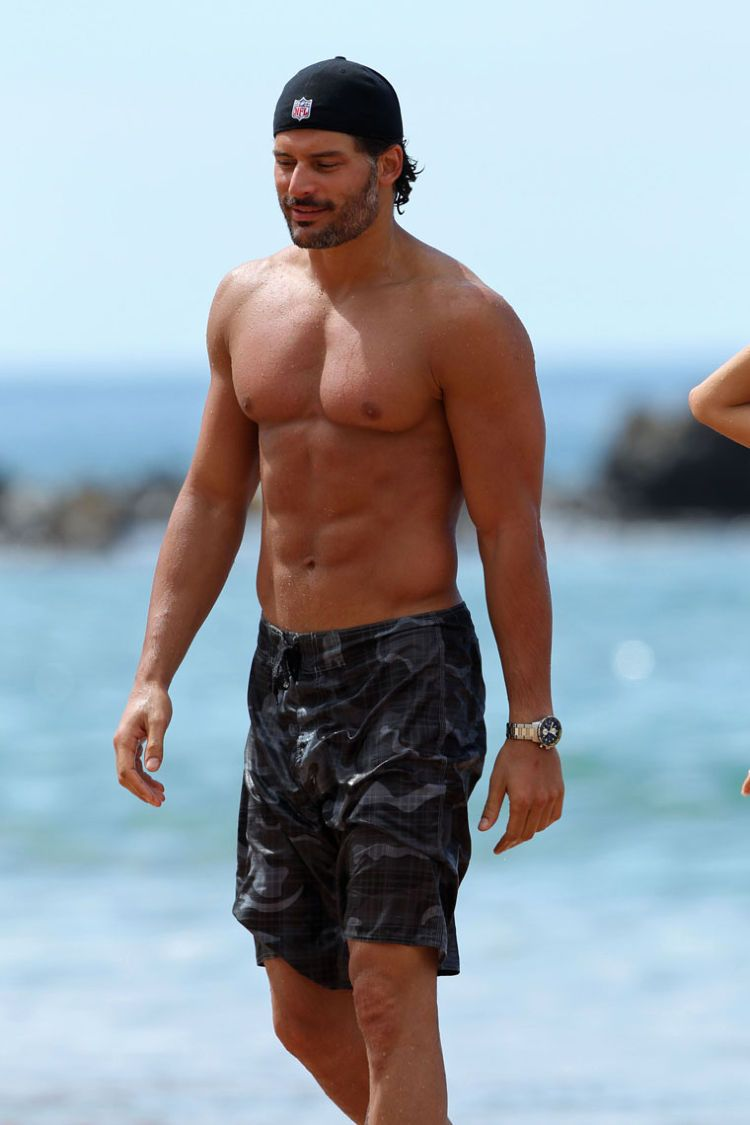 Joe Manganiello...I would love to say something clever, but I lose all capacity for thought when I see him  :)