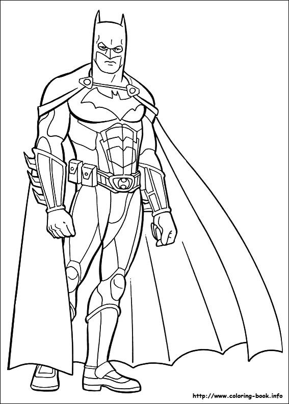 Batman Coloring Picture Con Imagenes Batman Para Colorear