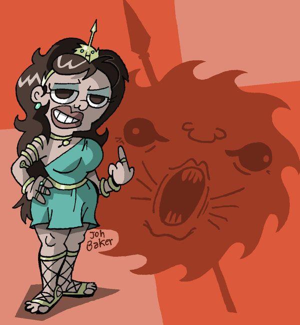 aSoIaF Cartoonimen- Arianne Martell by NewtMan