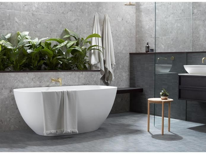 Milli Pure 200 Wall Bath Outlet Chrome Bathroom Spa