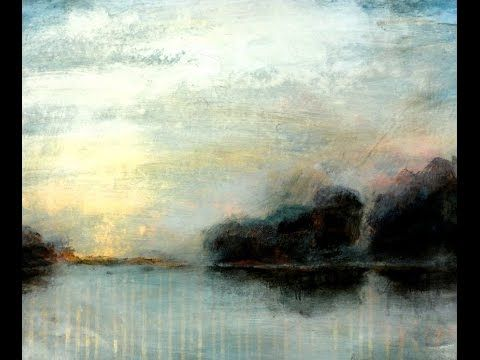 Acrylmalerei Lasuren - Landschaft im Nebel - YouTube