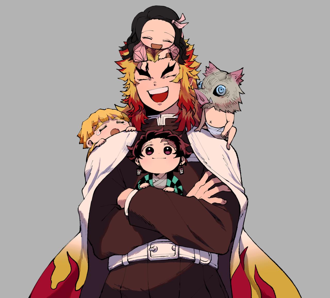 Proud Papa Anime Demon Dragon Slayer Slayer