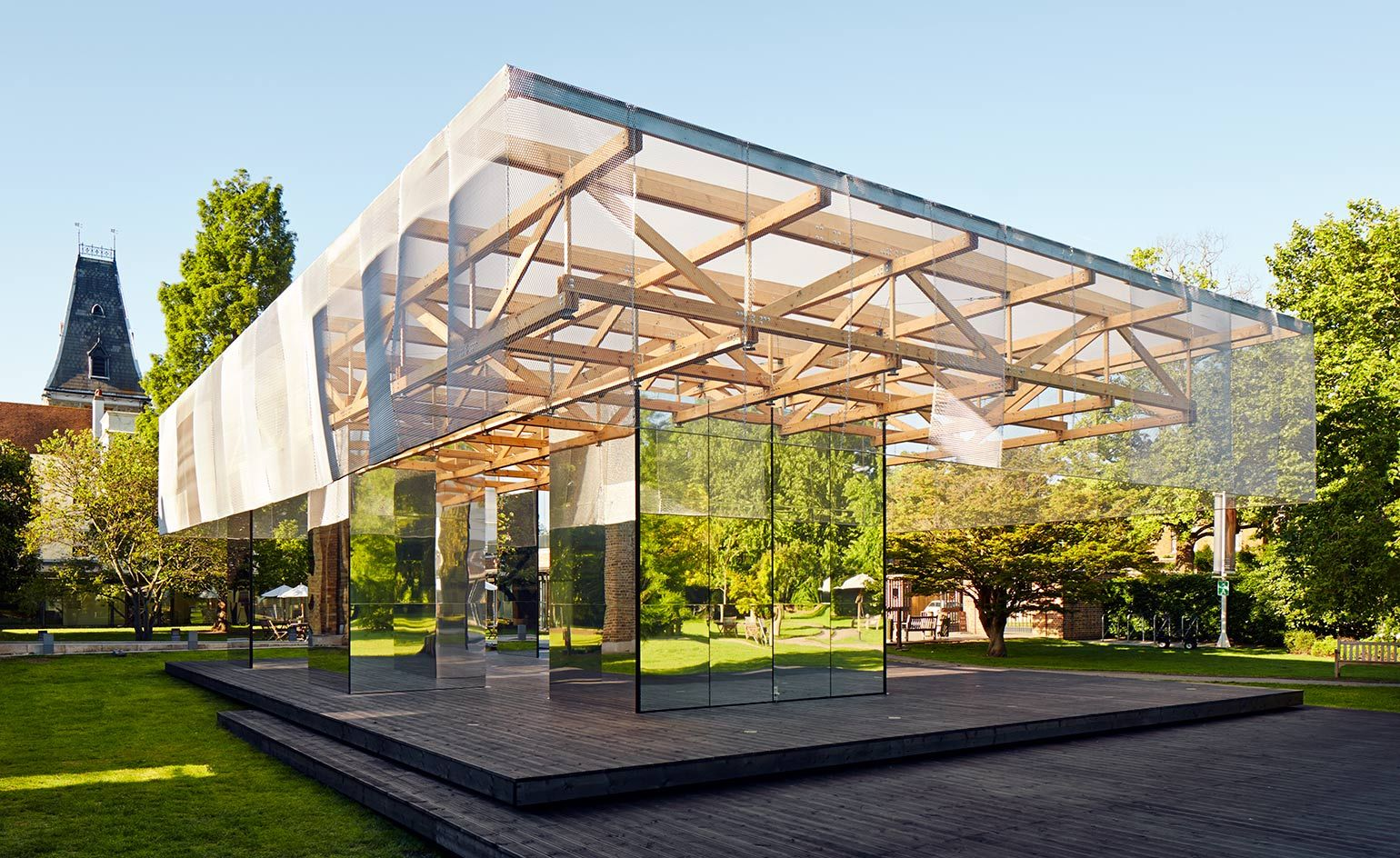 Architectural Pavilions Architects Packing A Big Punch With Small