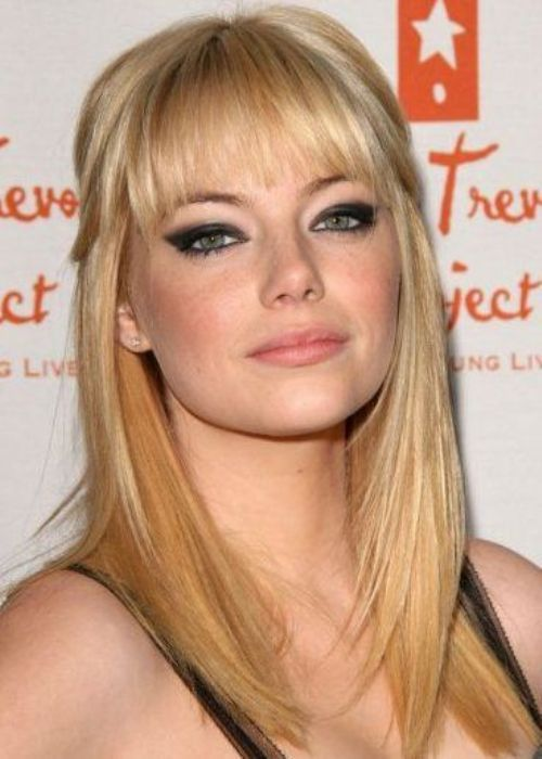 Emma stone hairstyle for round faces stunning half up half down emma stone hairstyle for round faces stunning half up half down winobraniefo Gallery