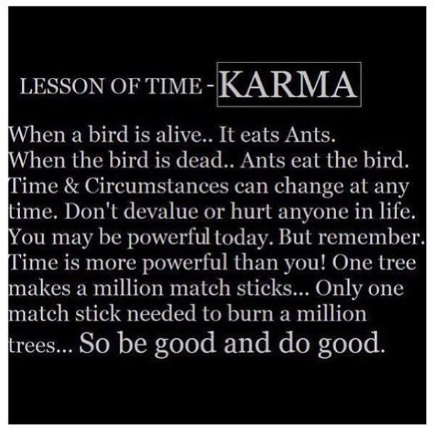 Love Prevails Quotes: LOVE This .KARMA In The End, God Always Prevails.