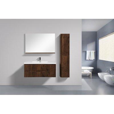 Best Foundstone Valerie 47 Wall Mounted Single Bathroom Vanity 640 x 480