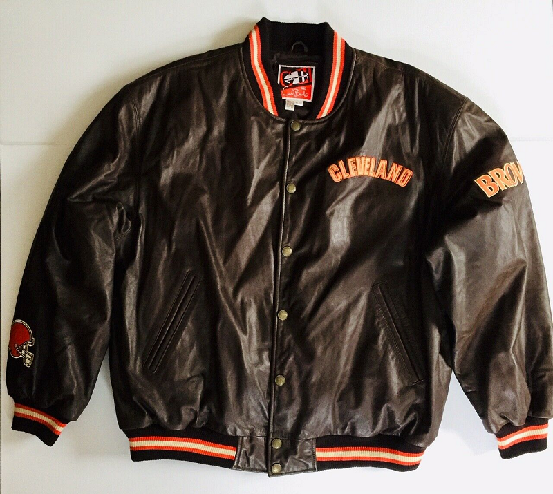 Cleveland Browns Leather Jacket Right Jackets Leather Varsity Jackets Leather Jacket Leather Jacket Men
