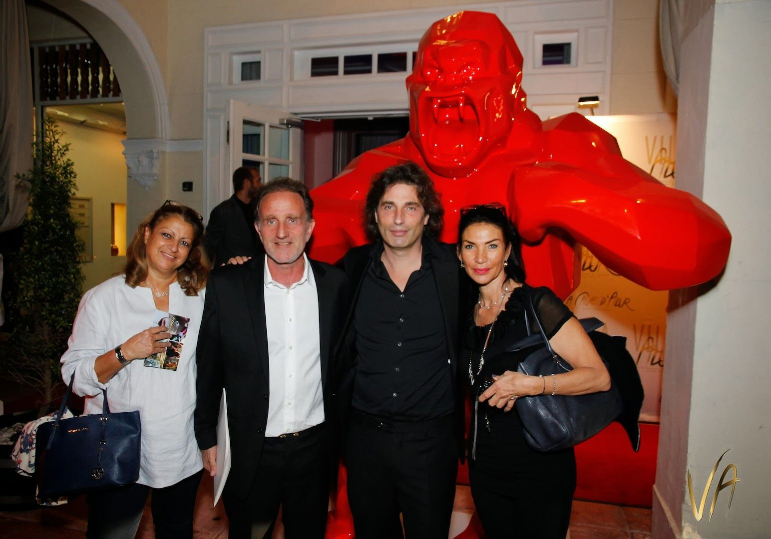 "Private event for Richard Orlinski's ""Born Wild"" exhibit hosted by Markowicz Fine Art at Villa Azur  WWW.MARKOWICZFINEART.COM"