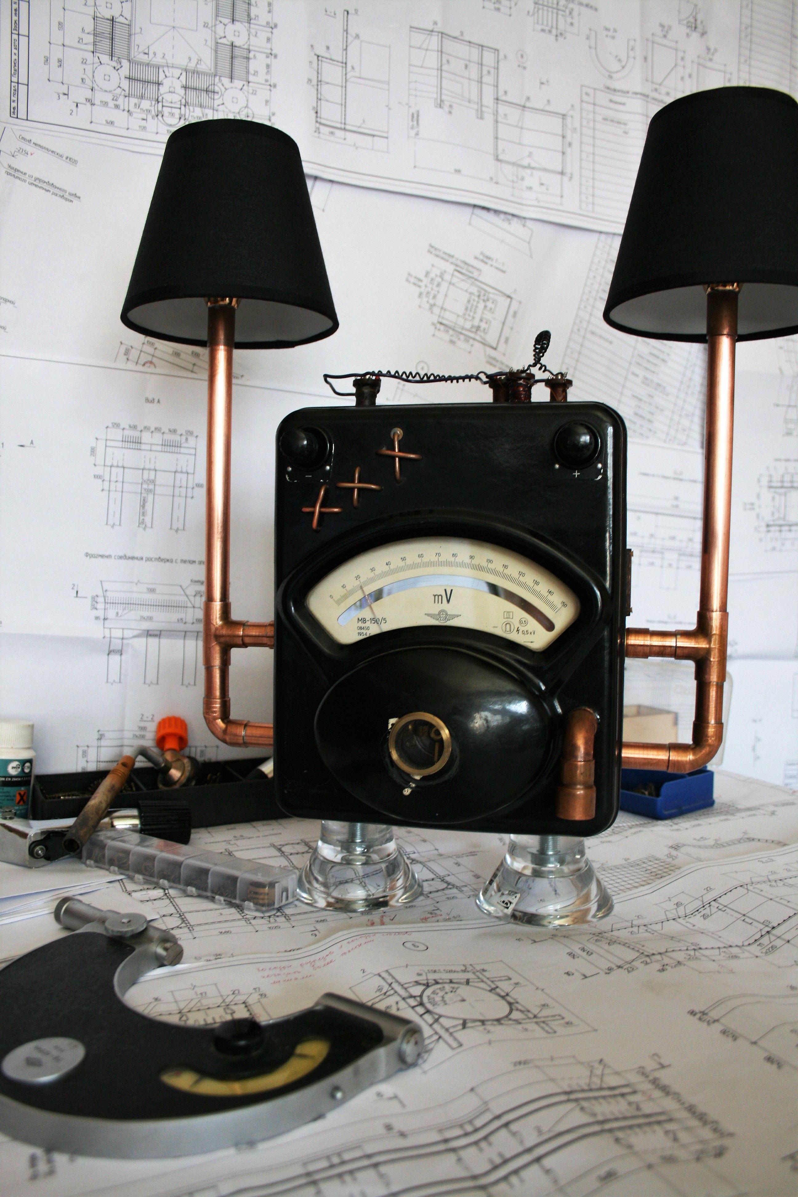 Steampunklamp #Steampunk #Loft
