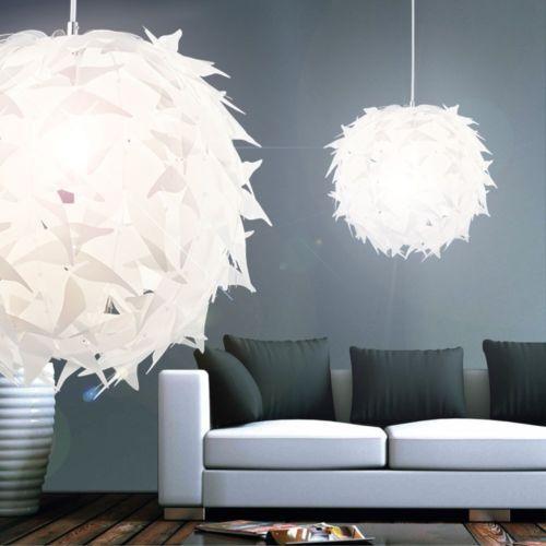 Details zu Hänge Leuchte rund Acryl Wohnzimmer Beleuchtung Kinder ...