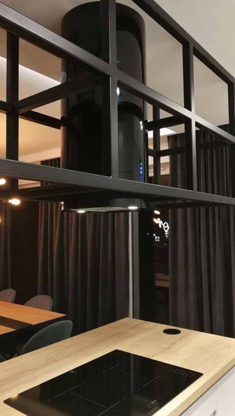 Fritthengende Ventilator Cylindro Black Nortberg Interior Kjokkenvifte Minimalisme