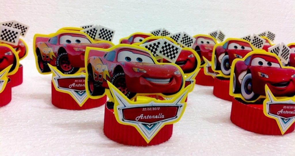3224d771f Souvenirs de cumpleaños de Cars | manualidades | Birthday, Party y ...