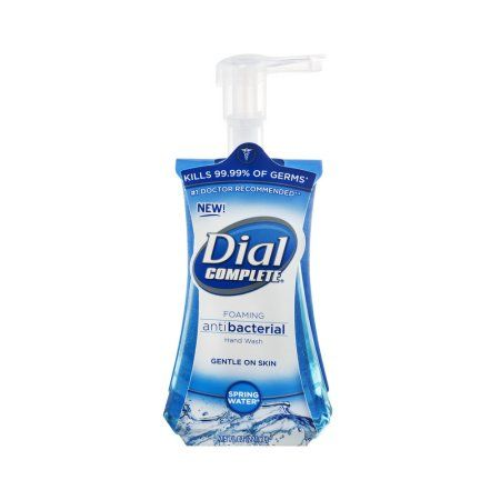 Dial Complete Hand Wash Foaming Antibacterial 7 5 Fl Oz