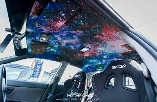 Galaxy headliner galaxy themed cars pinterest cars for Galaxy headliner material