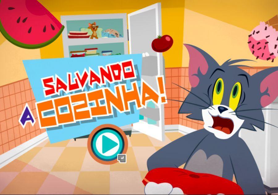 Tom Jerry Salvando A Cozinha Em 2021 Tom E Jerry Jogo Tom Jogos De Desenho
