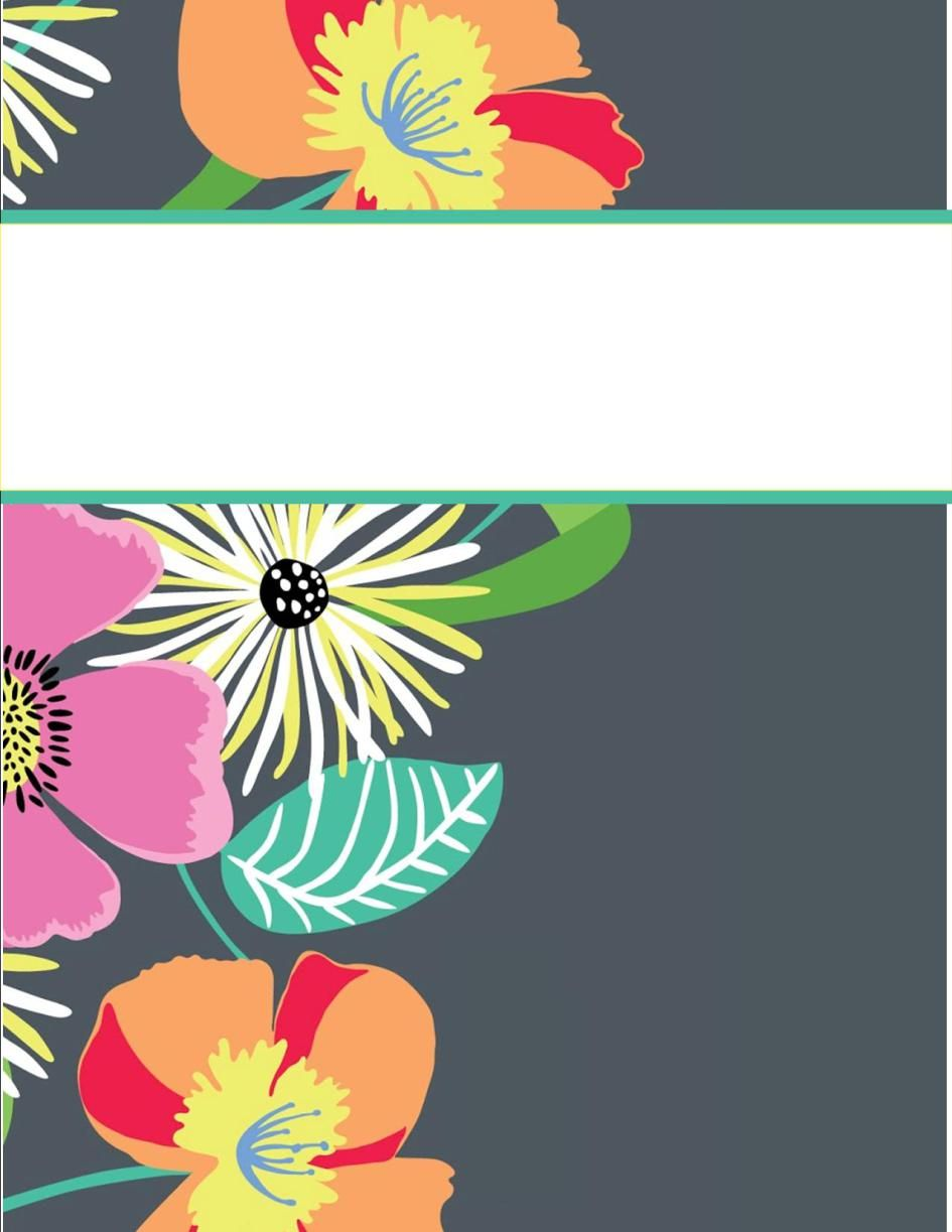 binder covers. I normally don't like these, but this one's cute