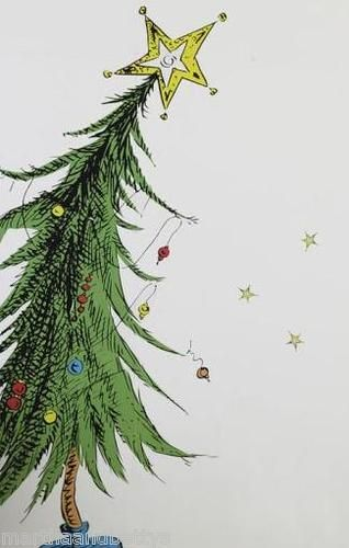 NEW $129 Pottery Barn Kids Grinch Tree Holiday Wall Decal SOLD OUT | eBay : grinch wall decal - www.pureclipart.com