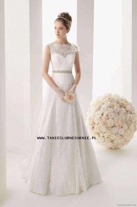 Koronkowa Suknia Slubna Szyta Na Miare Litera A 3633368625 Oficjalne Archiwum Allegro Wedding Dresses Wedding Dresses Lace Dresses