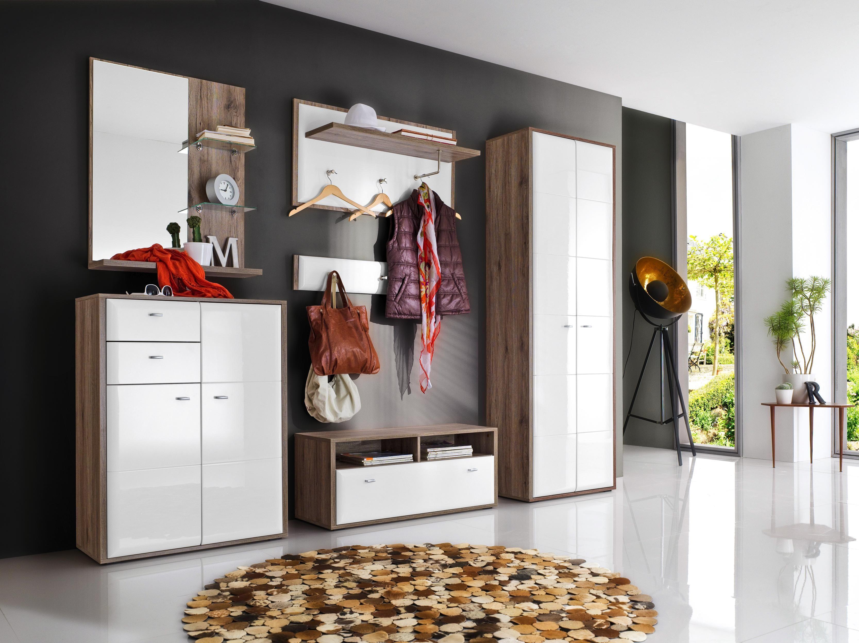 garderobe gaderobe garderobenset garderobe und wei e. Black Bedroom Furniture Sets. Home Design Ideas