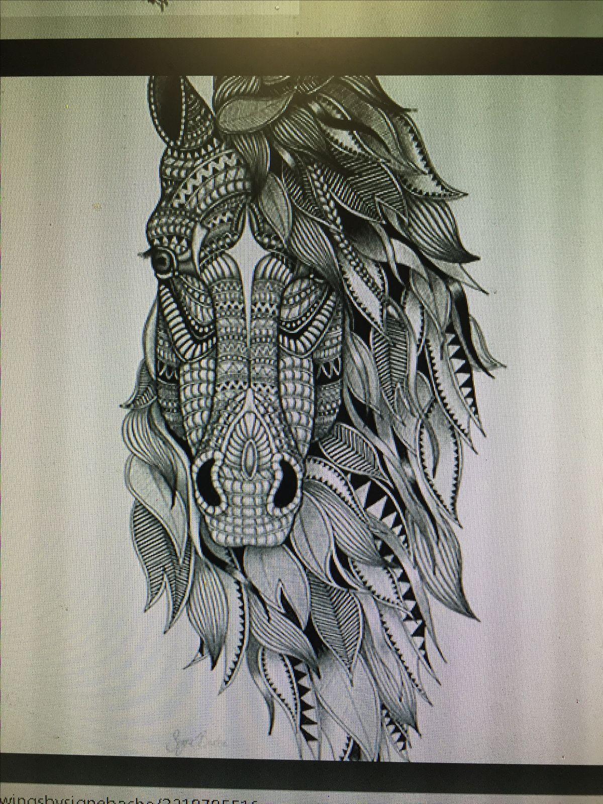 Mandala horse inspi tattoo tatouage tatouage chevaux et dessin tatouage - Mandala de chevaux ...