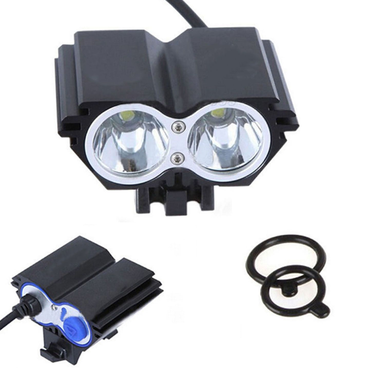 8.4V Waterproof LED Headlight Headlamp Strong Light for Bike Bicycle