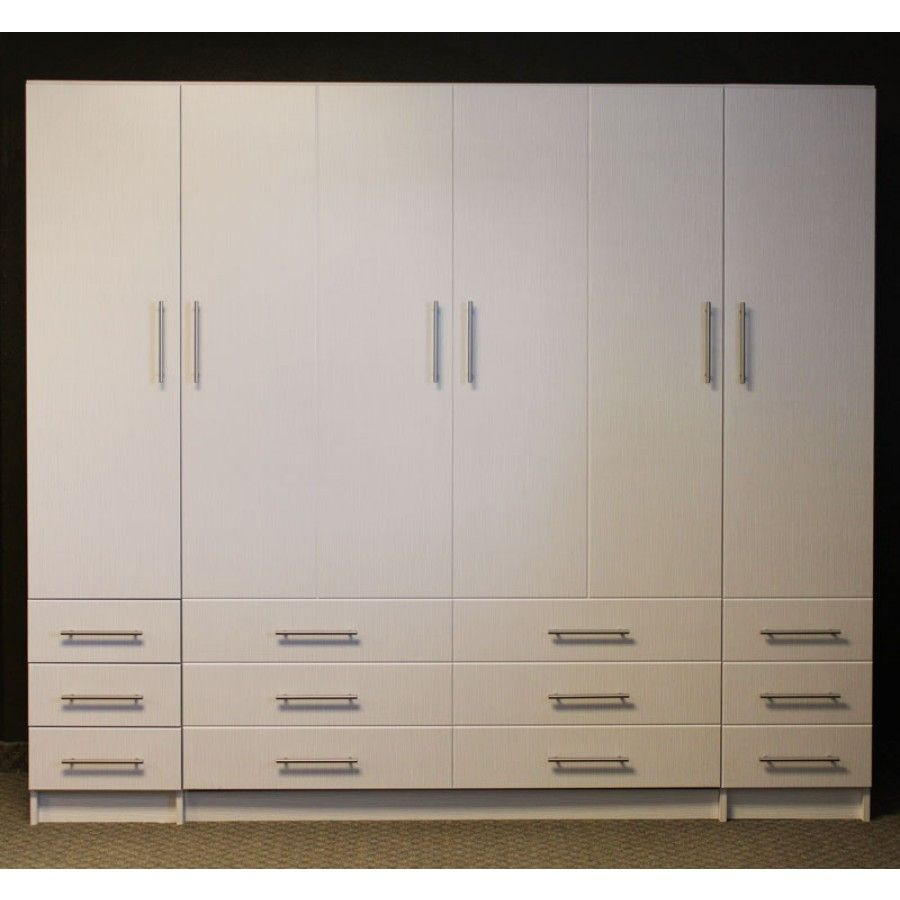 Penthouse murphy bed comes includes faux look door faces side