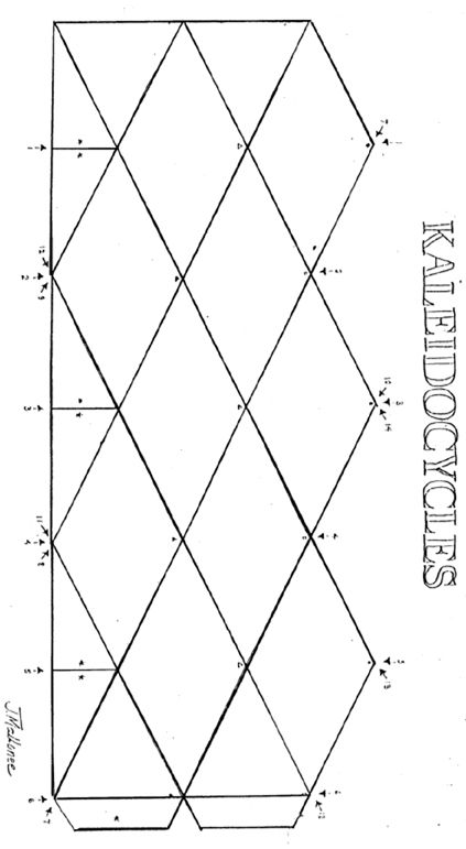 Pattern.jpg 423×771 pixels | flextangle / kaleidocycle | Pinterest