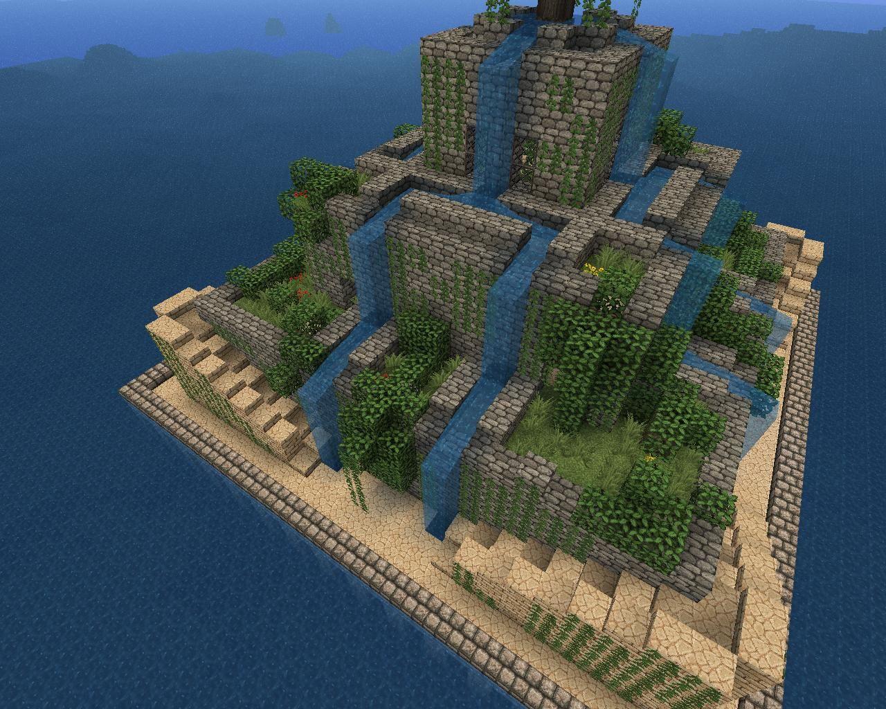 Hangenden Garten Von Babylon Minecraft Ein Kurzer Uberblick Uber Minecraft Ideen Ideen