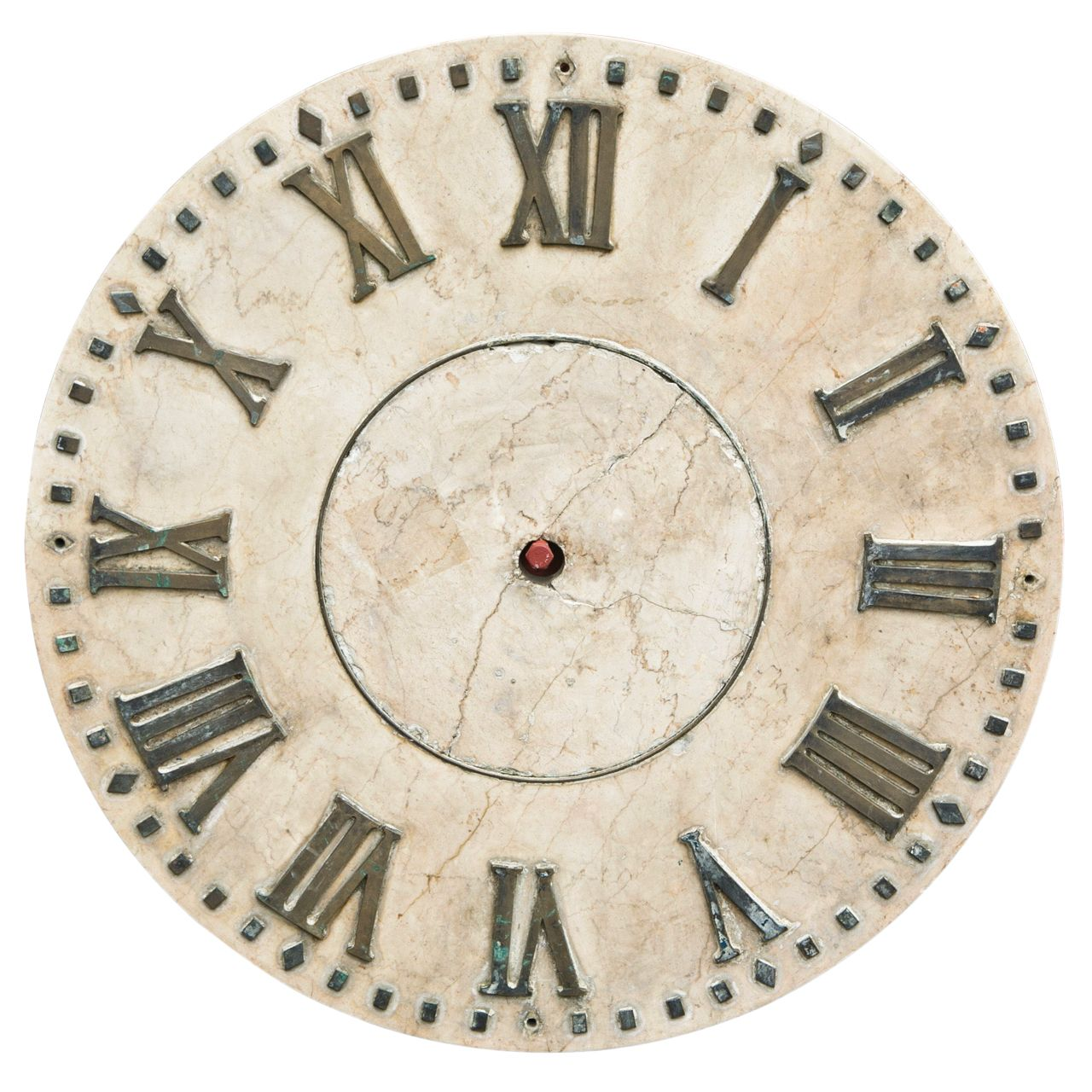 Marble Clock Face | From a unique collection of antique ...