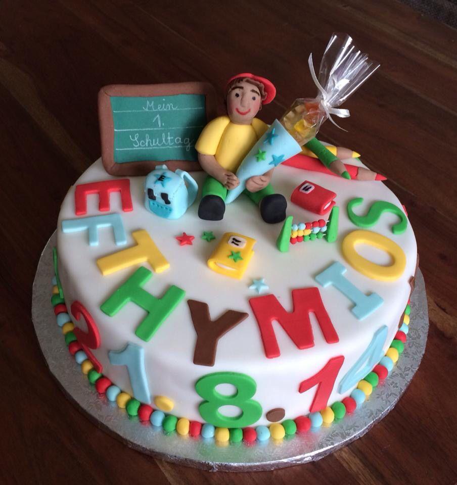 Torte Zur Einschulung Cakes And Fun Torte Einschulung
