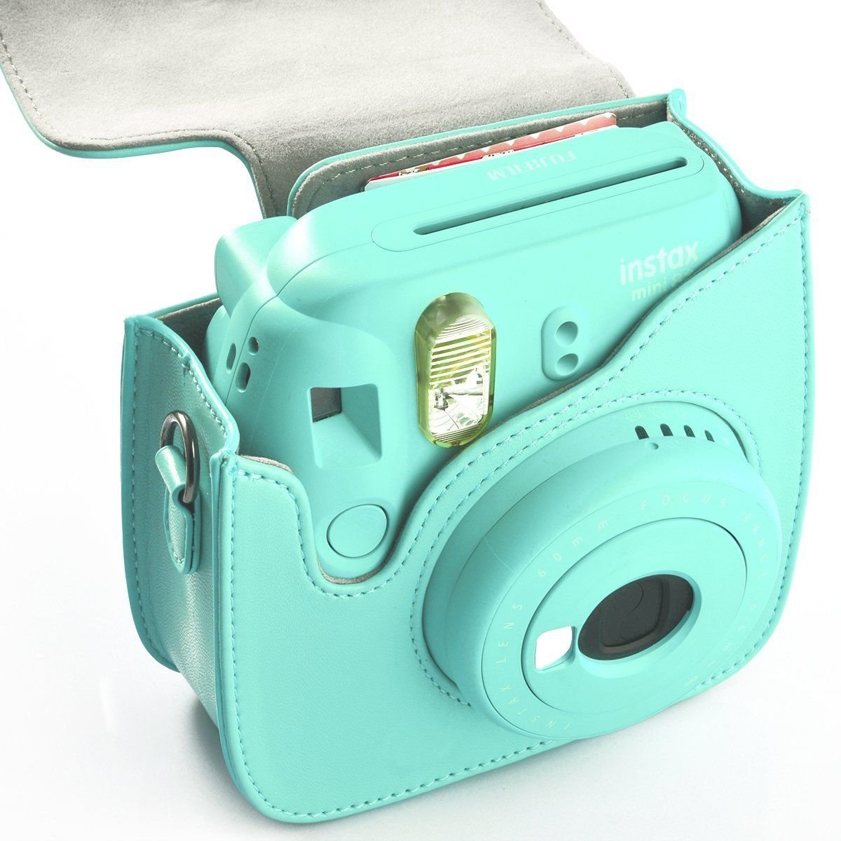 Amazon Com Fujifilm Instax Mini 8 Camera Bag Hellohelio
