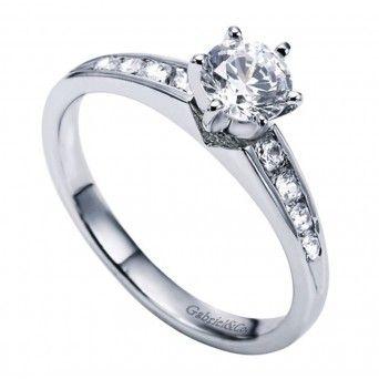 18k White Gold 3 Dimensional Engagement Ring Wedding Day Diamonds Diamond Engagement Ring Set Vintage Engagement Rings Wedding Day Diamonds