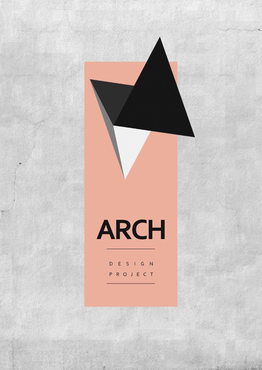 Portfolio 2.1 The ARCH Design Project : Architecture, Graphics, And Arts.  (colour