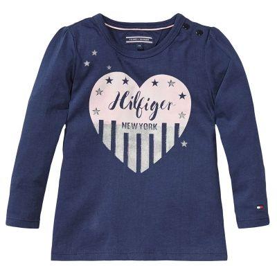 Tommy Hilfiger T-shirt | Winter collectie 2015 | www.kleertjes.com #kinderkleding #babykleding #kids #fashion