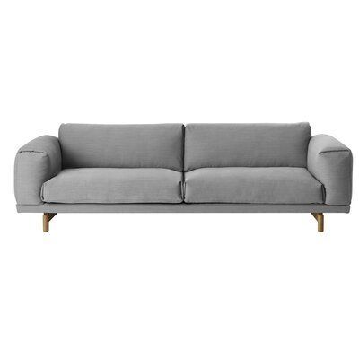 Muuto Rest Sofa 3-Seater | Perigold  Muuto Rest Sofa 3-Seater Upholstery Color: Steelcut Trio 133  #3Seater #Muuto #Perigold #Rest #Sofa