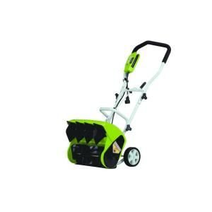 Green Works 16 In Corded Electric Snow Blower 26022 At The Home