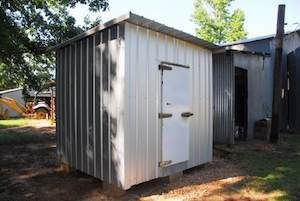 Cooler Plans Outdoor Remodel Sustainable Homestead Walk In Freezer