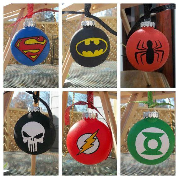 Navidad friki navidad avengers pinterest rboles de - Ornamentos de navidad ...