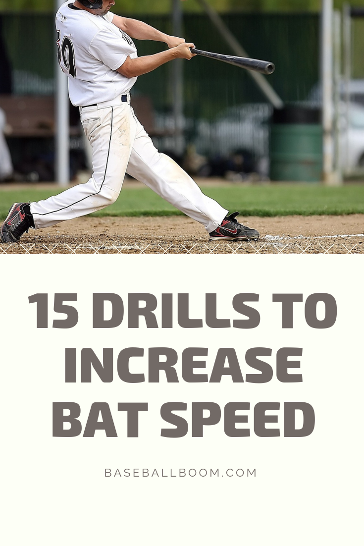 Professional Baseball Players Use Every Drill And Tool Available To Increase Bat Speed And Swing Velocity Exit Veloc Bat Speed Baseball Tips Baseball Workouts
