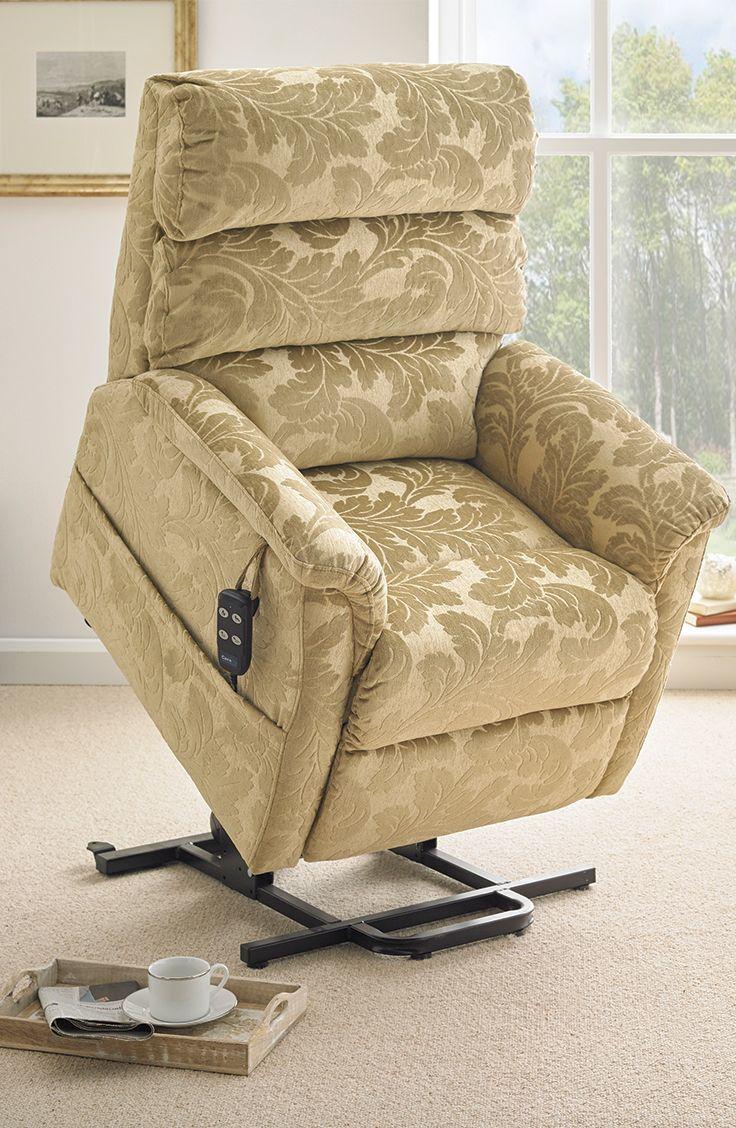 Madison Fabric Riser Recliner Dual Motor Lift Chair