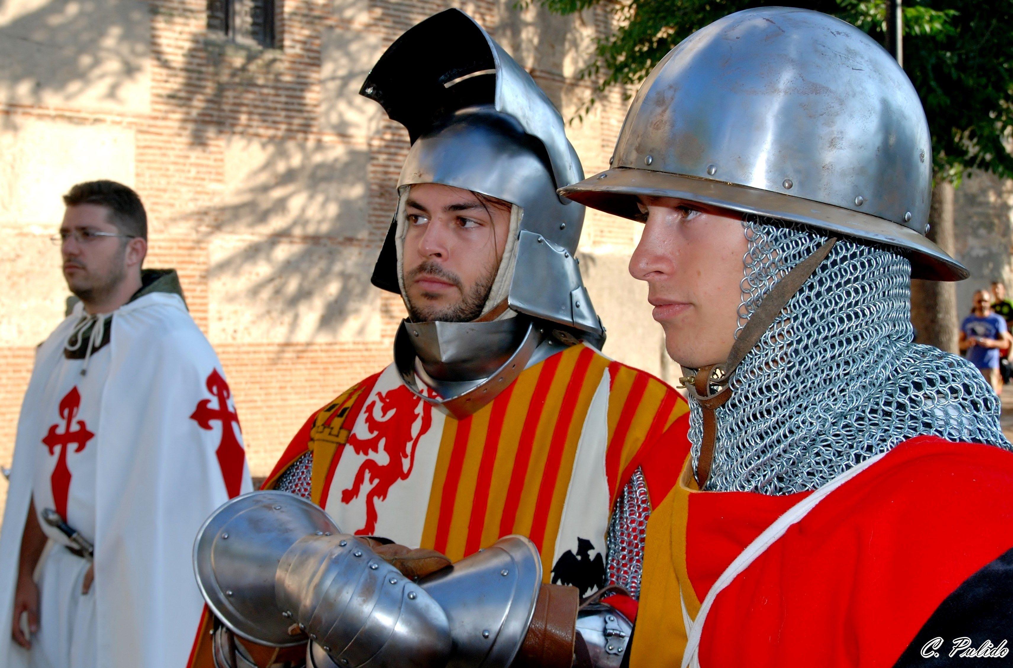 Parte de la Comitiva Castellana Boda de Juan II de Castilla e Isabel de Portugal (Madrigal de las Altas Torres 1447)