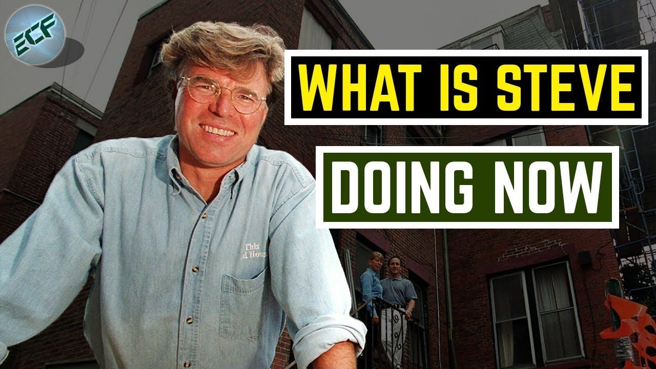 Steve Thomas Became Popular As The Host Of Pbs This Old House From 1989 To 2003 While Traveling With He Master Navigator Steve Thomas Youtube Documentaries