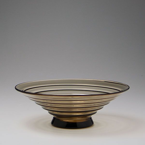 Edvard Hald for Orrefors, Sandvik bowl, circa 1932.