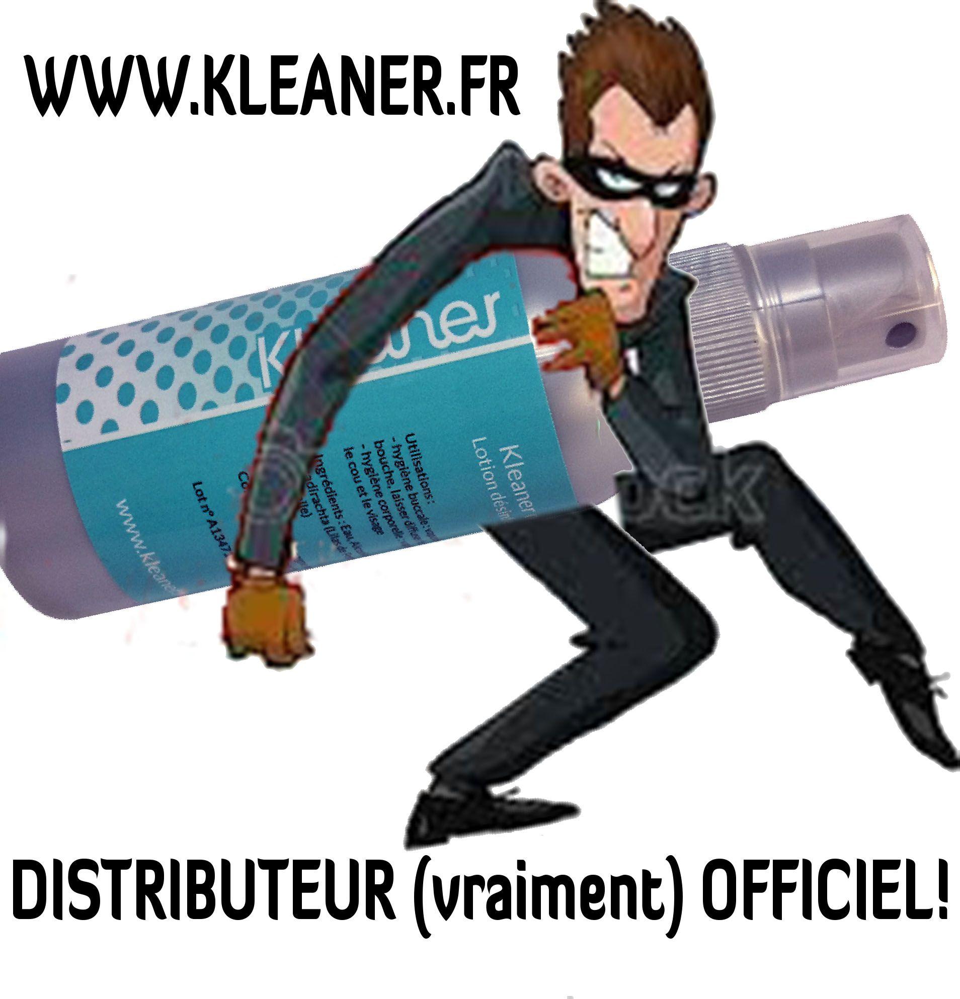 KLEANER.FR est LE distributeur officiel en Europe depuis