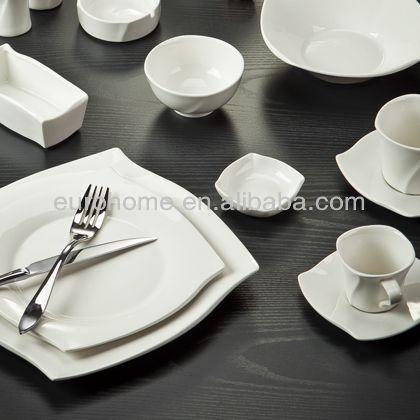 Fda Ciq Ce Certificate Ceramic Tableware Porcelain Tableware Tableware Set Chinaware Restaurant Plates Dinner Plates Ceramic Tableware