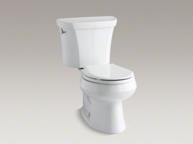 Wellworth Two Piece Round Front Dual Flush Toilet Dual Flush
