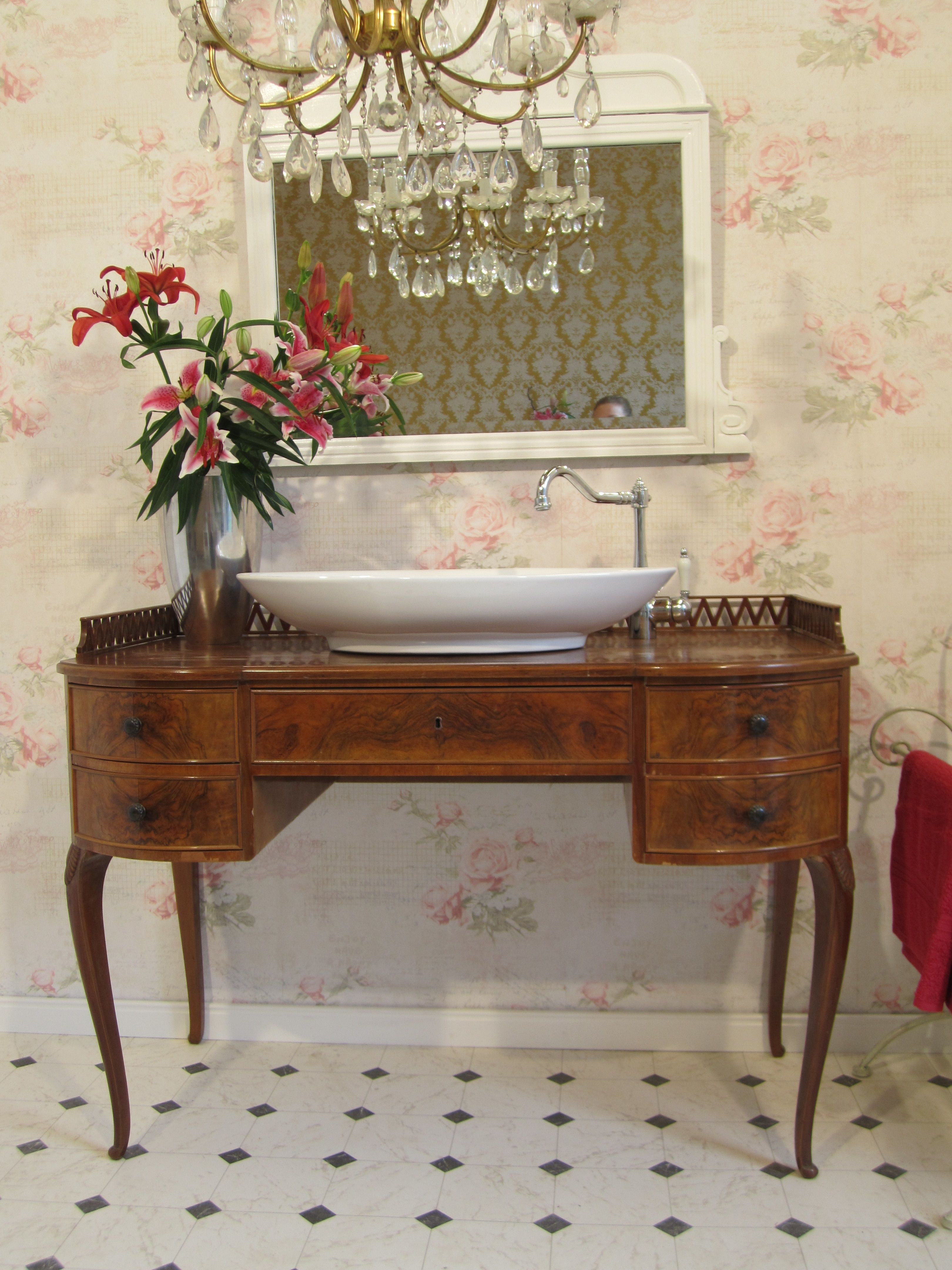 """Badmöbel Landhaus - """"Gentle Breeze"""" ist ein Waschtisch Landhaus ..."""