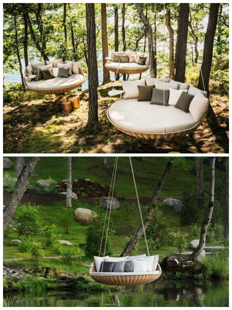 Swingrest garden furniture gardens spaces and backyard
