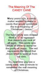 meaning of the candy cane the meaning of the candy cane tells how the candy cane was made to - Hard Candy Christmas Meaning