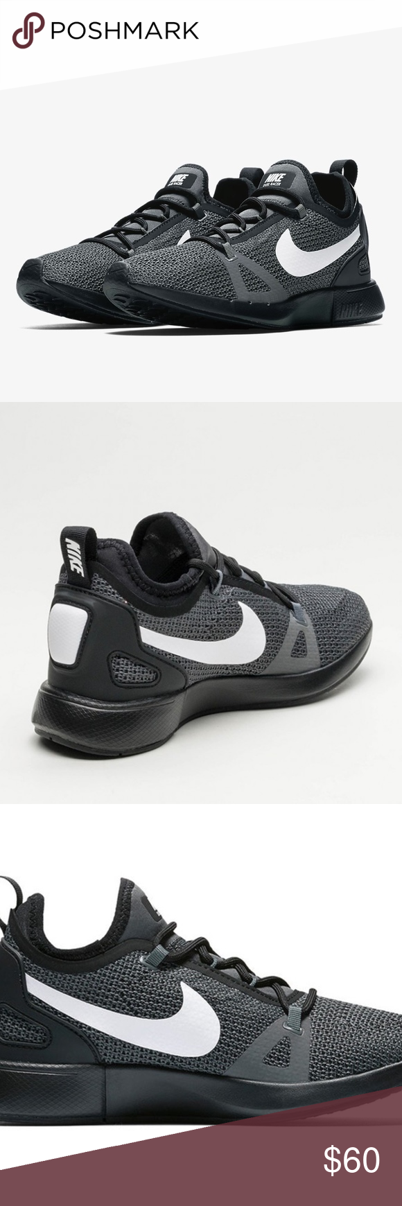 NIKE DUEL RACER CASUAL SHOES NWT Old school running style meets modern  technology on the Women's Nike Duel Racer Casual Shoes. 3-Tone engineered  upper for a ...